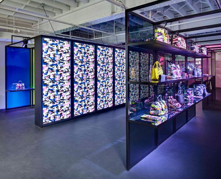 Pop-up store de Dior en Miami durante el Art Basel en 2012